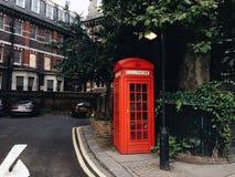 Красная будочка Стоковое Фото