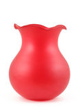 красная ваза Стоковые Фотографии RF