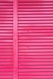 Красная дверь входа металла ролика Стоковое Изображение RF