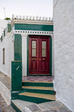 Красная дверь Стоковое Изображение RF