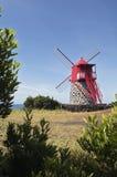 красная ветрянка Стоковая Фотография RF