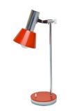 Красная винтажная сетка лампы стоковое изображение rf