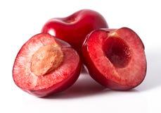Красная вишня Стоковая Фотография