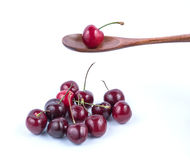 Красная вишня Стоковое фото RF