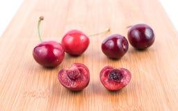 Красная вишня Стоковые Изображения RF