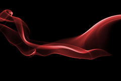 Красная волна Стоковое фото RF