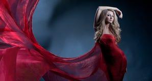 красная волна Стоковое Изображение RF