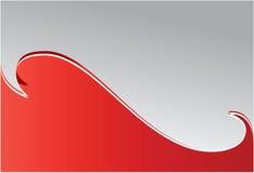 красная волна Стоковое Изображение