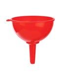Красная воронка стоковое изображение