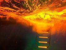 красная вода Стоковые Изображения RF