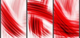 Красная высокотехнологичная абстрактная предпосылка Стоковые Фото