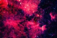Красная галактика Элементы этого изображения поставленные NASA стоковые изображения rf
