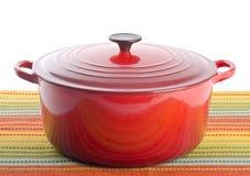 Красная голландская печь Стоковые Фото