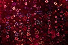 Красная голографическая бумага Стоковое Фото