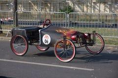 Красная гонка Soapbox Bull Стоковое Фото