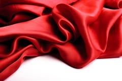 Красная граница сатинировки Стоковые Изображения