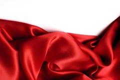 Красная граница сатинировки Стоковые Фото