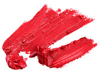 Красная губная помада Стоковое Фото