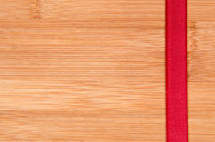 Красная лента Стоковое Фото