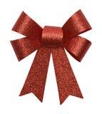 Красная лента Gliter Стоковое Фото