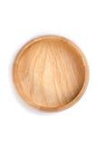Красная деревянная плита Стоковая Фотография