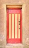 Красная & желтая дверь Стоковое Изображение RF