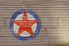 красная звезда Стоковая Фотография RF