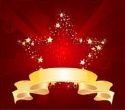 красная звезда иллюстрация вектора