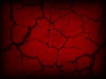 Красная земля отказа стены Стоковая Фотография RF