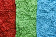 Красная, зеленая и голубая предпосылка текстуры Стоковое фото RF