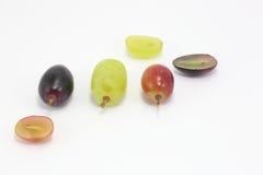 Красная зеленая черная виноградина Стоковое Фото