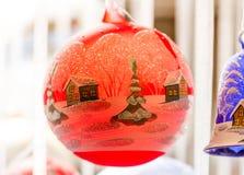 красная зима места Стоковые Фото
