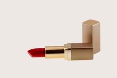 Красная изолированная губная помада Стоковое Фото