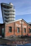 Красная линия музей звезды, Антверпен, Бельгия. Стоковые Фотографии RF