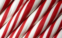Красная и белая конфета пипермента Стоковое Изображение RF