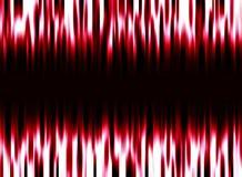 Красная и белая неоновая предпосылка конспекта зарева Стоковая Фотография RF