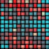 Красная и голубая абстрактная текстура Стоковые Изображения
