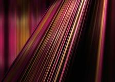 Красная и желтая предпосылка нашивок Стоковая Фотография RF