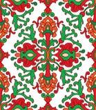 Красная и зеленая картина Стоковые Фотографии RF