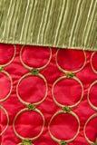 Красная и зеленая предпосылка рождества Стоковые Изображения RF
