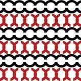 Красная и черная предпосылка Стоковая Фотография