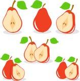Красная иллюстрация груш Стоковые Фото