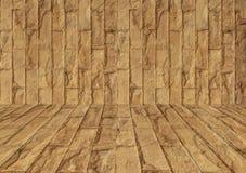 красная каменная стена текстуры Стоковые Изображения RF