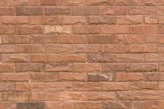 красная каменная стена текстуры Стоковые Изображения
