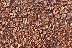 красная каменная текстура Стоковые Фото