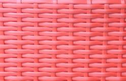 Красная картина basketwork Стоковое фото RF