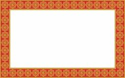 Красная картинная рамка Стоковая Фотография