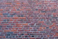 Красная кирпичная стена в Бостоне, Массачусетсе - США Стоковые Изображения RF