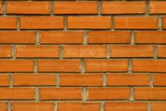 Красная кирпичная стена для настольной предпосылки стоковая фотография