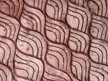Красная кирпичная стена изображение реки, предпосылка текстуры стоковые фото